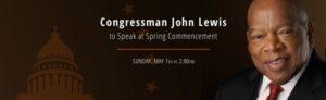 Congrsmn J. Lewis, Berea Commencement Announc 050717