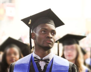 Danice Graduation Photo, Official, close