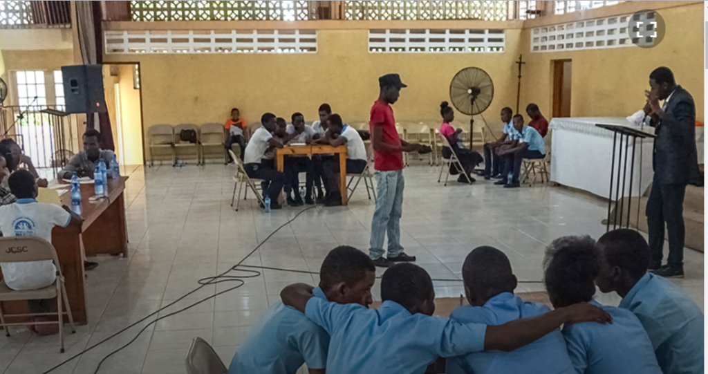 Student education competion, Haiti May 2018